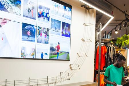ASICS nuevo concepto retail en Belgica