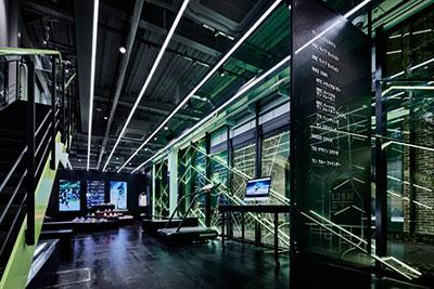 Nuevo Nike+ Run Club con diseno industrial y futurista en Tokyo
