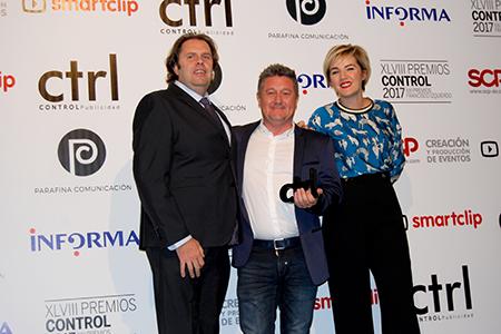 BIGPRINTS 3ª MEJOR EMPRESA DE PRODUCCIÓN GRÁFICA EN LOS #PremiosCONTROL2017