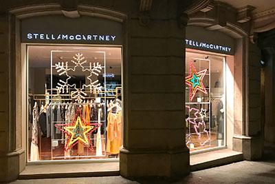 Escaparates de Navidad de Stella McCartney