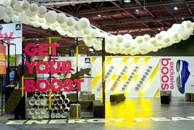 Evento Adidas Boost en Londres