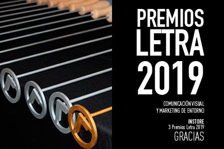 INSTORE Premios Letra edición 2019