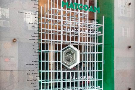 INSTORE presente en los escaparates de MATCOAM
