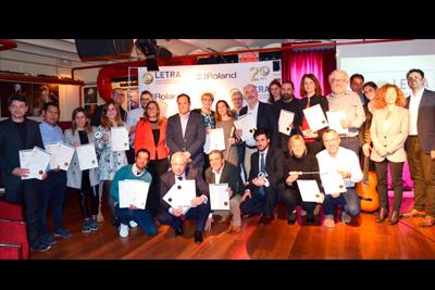 INSTORE y BIGPRINTS Premios Letra 2018
