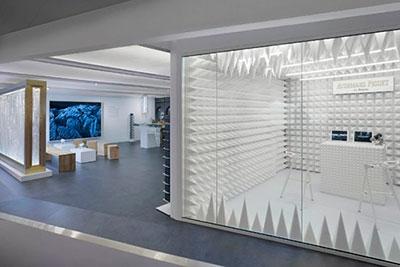 Interiorismo de lujo para Audemars Piguet
