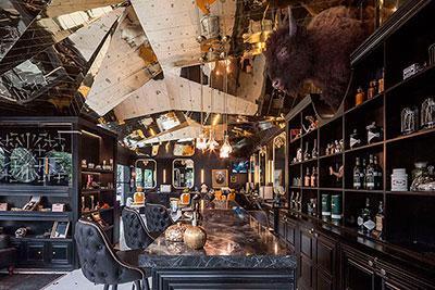 Interiorismo de lujo en la Barberia Royal Mejico
