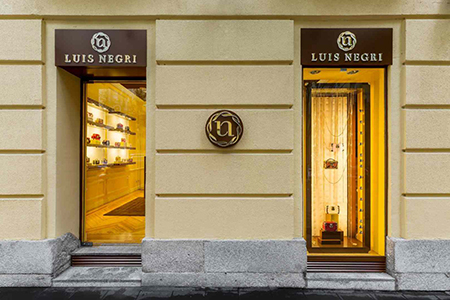 Primera flagship de Luis Negri en Madrid