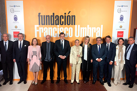 Produccion grafica Premio Francisco Umbral 2016