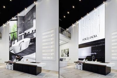 Porcelanosa convierte su flagship de Nueva York en una experiencia audiovisual