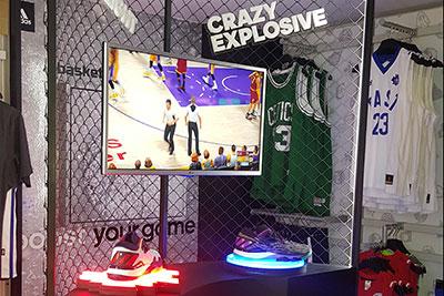 INSTORE produce mobiliario para evento de Adidas en punto de venta