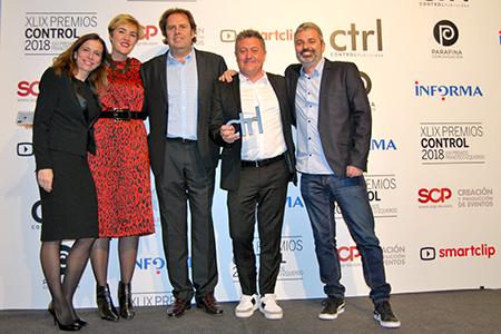 BIGPRINTS Segunda mejor empresa de produccion grafica en los #PremiosCONTROL2018