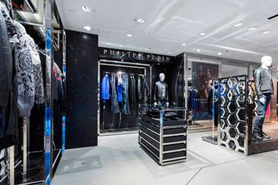 Shop in shop de Philipp Plein en Harrods