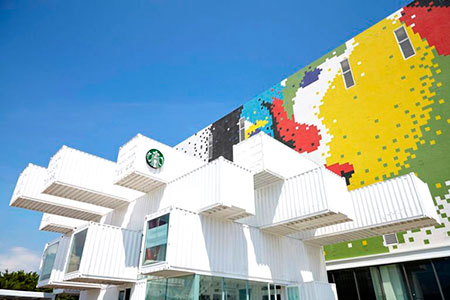 Starbucks Taiwan sustainable design