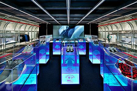 Tienda Adidas DAS107 en pleno corazón de Seul