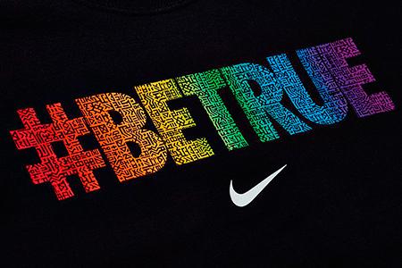 campaña publicitaria  #BETRUE de Nike