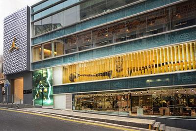Nueva Air Jordan store en Hong Kong