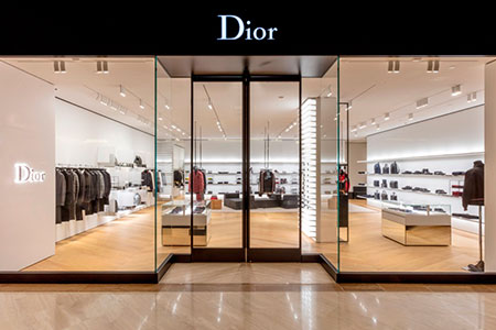 Diseno tienda Dior homme