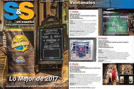 BIGPRINTS galardonada en premios internacionales Lo Mejor de S&S