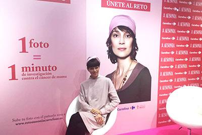 Evento de Ausonia en el Dia Contra el Cancer de Mama