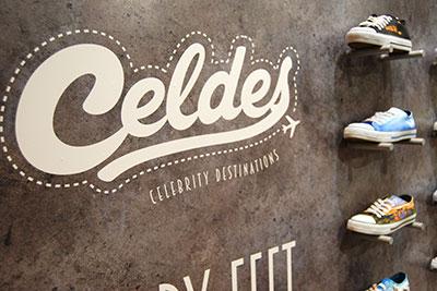 BIGPRINTS produce e instala los stands de las marcas Celdes y ØLL para el MOMAD 2016