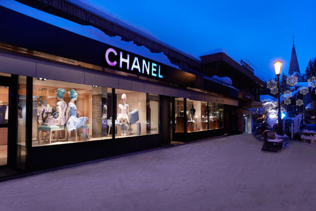 Chanel Pop-Up Store, Courchevel