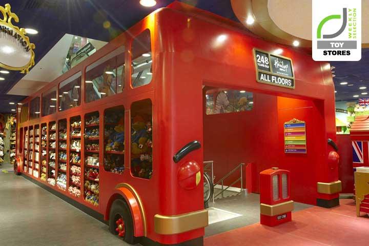 Hamleys flagship store, Londres
