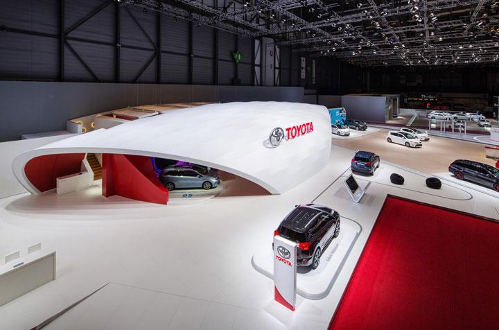 "TOYOTA ""The Wave"", nuevo stand global para Toyota."