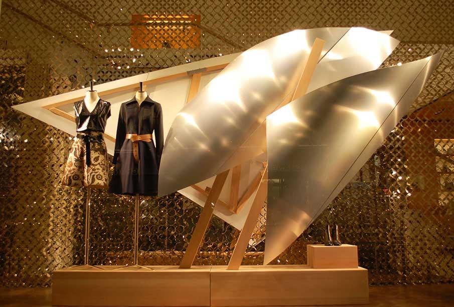 Escaparates Louis Vuitton para su flagship en París