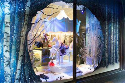 Harrods Christmas windows displays