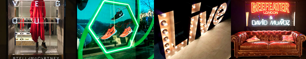 Rotulos luminosos en madrid rotulacion cartel metacrilato leds
