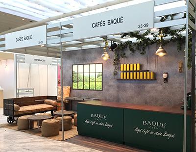 Producción e instalación del stand Café Baqué