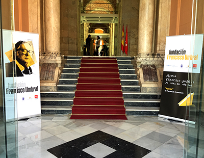 Produccion grafica Premio Francisco Umbral 2016