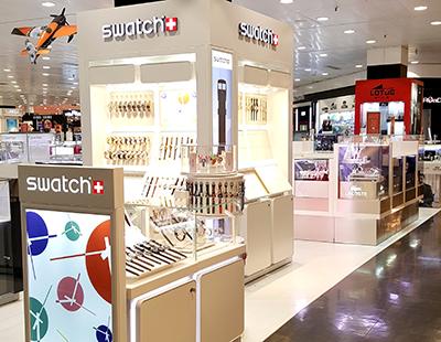 Instalacion corner Swatch El Corte Ingles