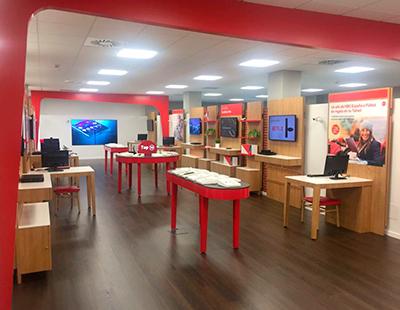 Produccion e instalacion del nuevo proyecto Vodafone Whisbi
