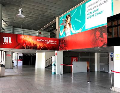 Cambio de creatividad en WiZink Center Madrid