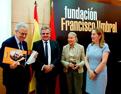 Produccion grafica para la entrega de premios Francisco Umbral