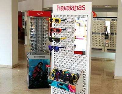 Instalacion optica coleccion verano havaianas