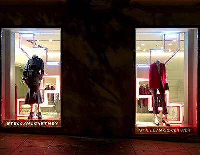 Escaparates luminosos Stella McCartney Madrid Barcelona