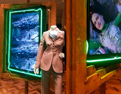 Instalacion escaparates boutiques Stella McCartney