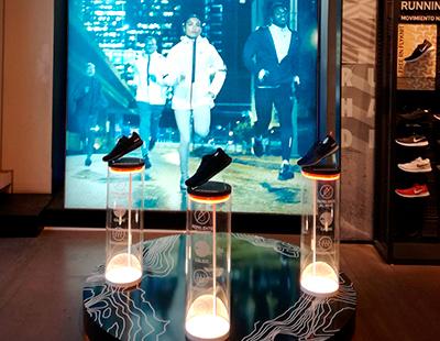 Mobiliario para punto de venta Nike
