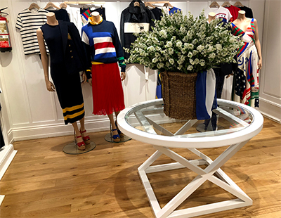 Fabricacion de mobiliario a medida para showroom de Ralph Lauren en Madrid