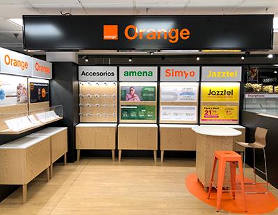 Actualizacion punto de venta Orange con mobiliario personalizado
