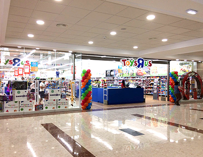 Rotulo luminoso para Toys'R US