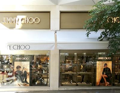 Instalacion cajas de luz boutique Jimmy Choo Madrid