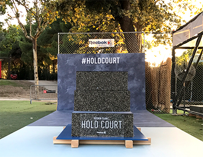 Produccion evento #HoldCourt Reebok
