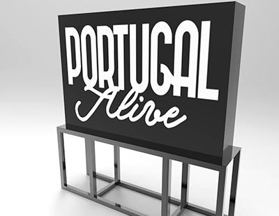 Produccion caja de luz Portugal Alive