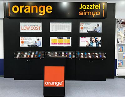 Implantacion Orange en punto de venta Carrefour