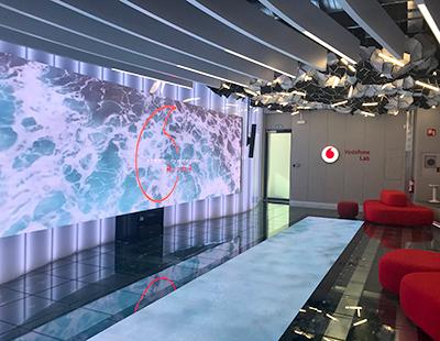Rotulacion en sedes Vodafone