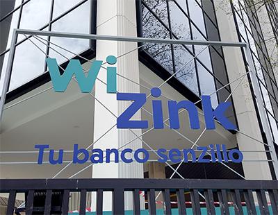 Rotulo exterior en gran formato para oficinas WiZink