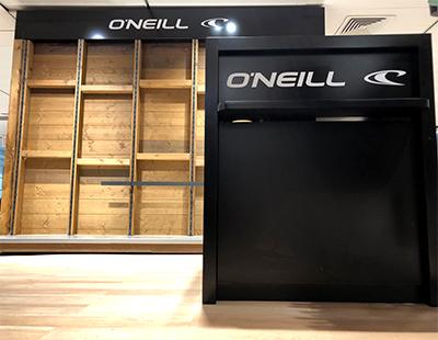 Produccion de corner para ONeill en El Corte Ingles